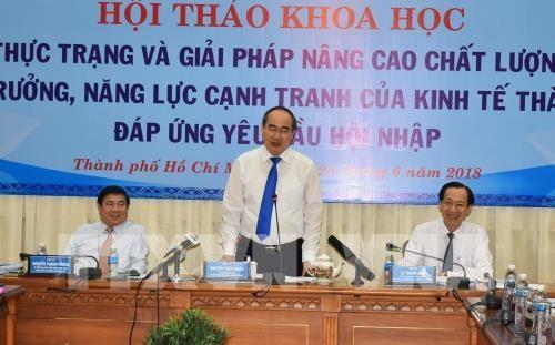 Ho Chi Minh-Ville cherche a ameliorer sa qualite de croissance et sa competitivite hinh anh 1
