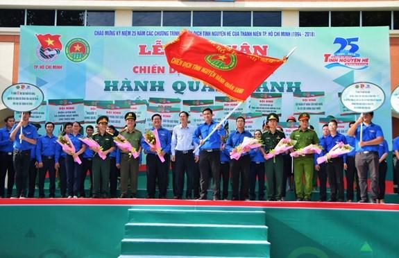 La campagne de volontariat «Mouvement vert» a Ho Chi Minh-Ville hinh anh 1