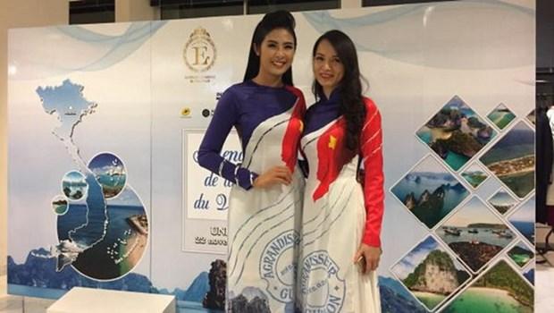Thu Trang, au service de la promotion de la culture vietnamienne a l'etranger hinh anh 1