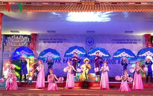 Le Festival de chant van se termine sur de bonnes notes a Hue hinh anh 1