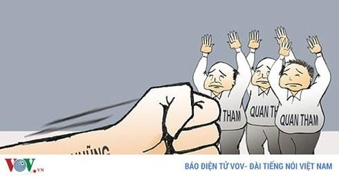 La population a confiance dans la determination du Parti et de l'Etat dans la lutte anti-corruption hinh anh 1