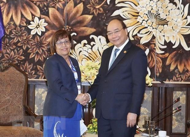 Le Vietnam prend en haute consideration les relations avec Marshall et la Guyana hinh anh 1
