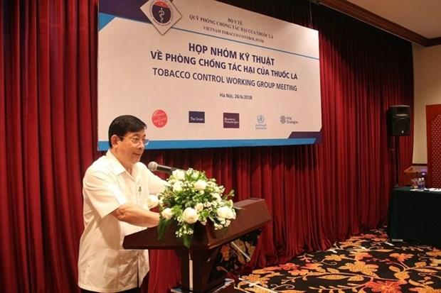 Les organisations internationales aident le Vietnam a lutter contre le tabagisme hinh anh 1