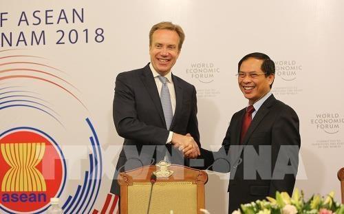 Le Forum economique mondial sur l'ASEAN 2018 se tiendra a Hanoi hinh anh 1