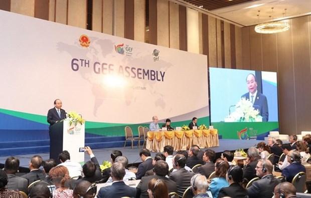Succes de la 6e Assemblee du Fonds pour l'environnement mondial hinh anh 1