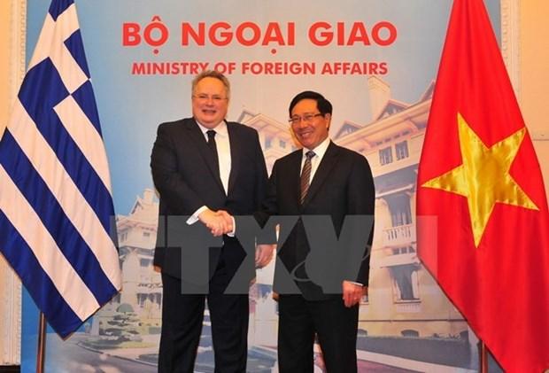 Promotion des relations de cooperation Vietnam-Grece hinh anh 1