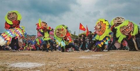 La danse des masques, un patrimoine de Lang Son hinh anh 1