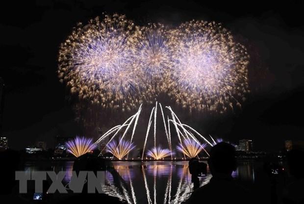L'Italie brille au Festival international de feux d'artifice de Da Nang 2018 hinh anh 1