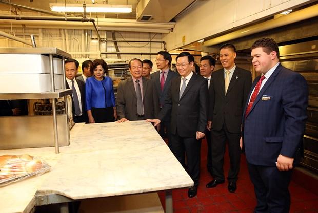 Le vice-PM Vuong Dinh Hue acheve avec succes sa visite officielle aux Etats-Unis hinh anh 1