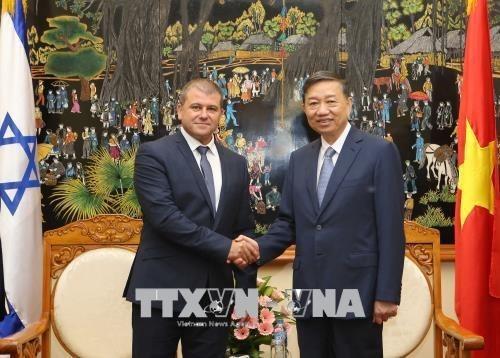 Le Vietnam et Israel renforcent leur cooperation dans la lutte contre la criminalite hinh anh 1