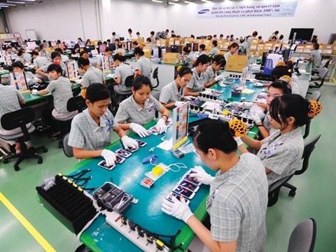 Vietnam: L' industrie manufacturiere s'ameliore nettement en juin hinh anh 1