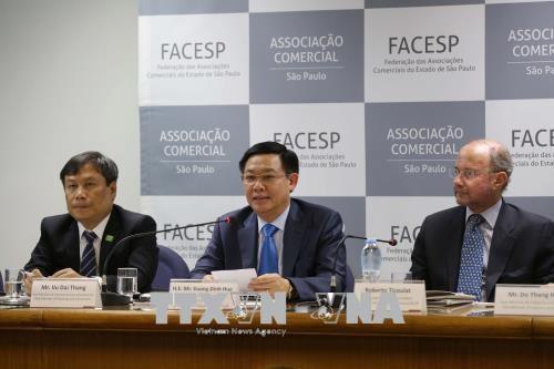 Promotion de la cooperation commerciale Vietnam-Bresil hinh anh 1