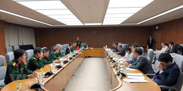 Le 6e Dialogue des politiques de defense Vietnam-Japon hinh anh 1