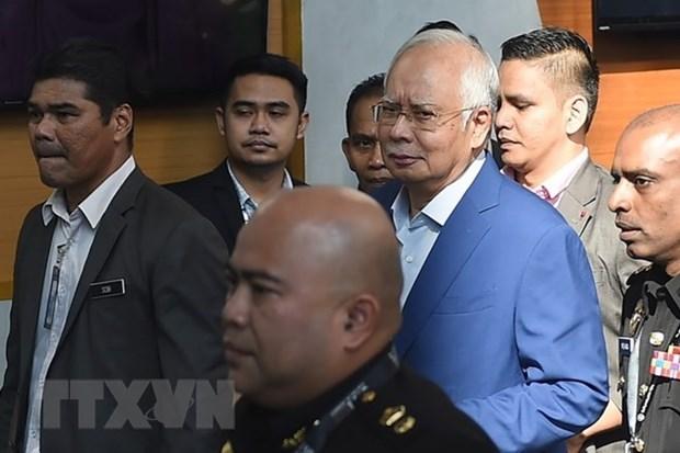 Malaisie: l'ex-Premier ministre Najib inculpe de corruption hinh anh 1