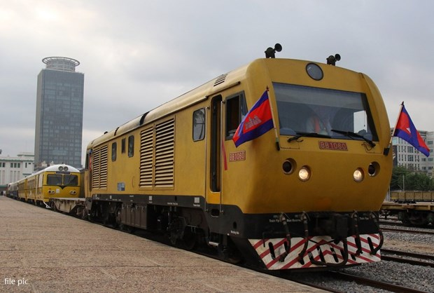 Le Cambodge lance des services de train de passager hinh anh 1