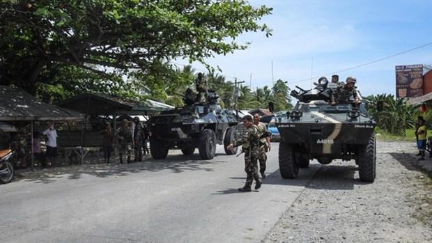 Les Philippines reprennent une ville des militants pro-EI hinh anh 1