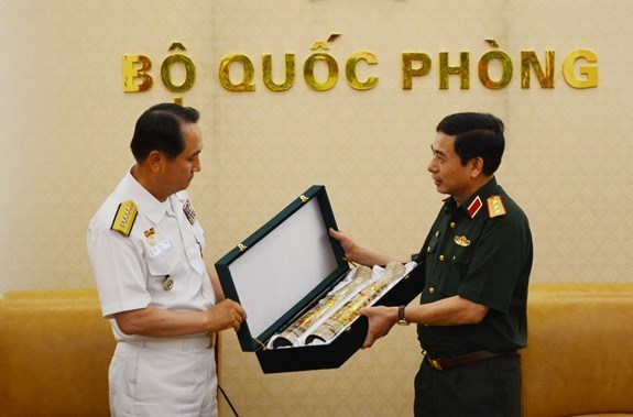Le Vietnam et la Republique de Coree boostent leur cooperation navale hinh anh 1