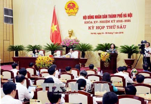 Hanoi connait une croissance de 7,07% au premier semestre hinh anh 1