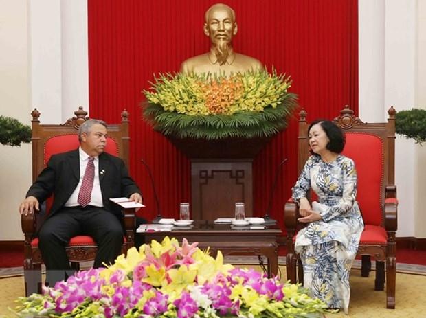 Renforcement de l'amitie Vietnam-Cuba hinh anh 1