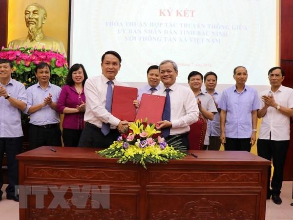 VNA et Bac Ninh collaborent a la promotion de leur image hinh anh 1