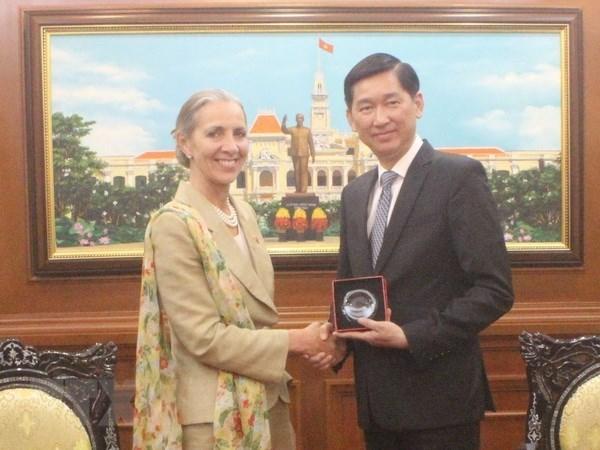 Le Royaume-Uni veut augmenter l'investissement a Ho Chi Minh-Ville hinh anh 1