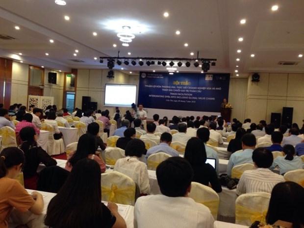 Des solutions pour une meilleure participation des PME aux chaines de valeur mondiales hinh anh 1