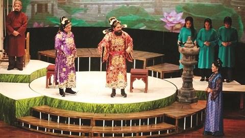 Le theatre traditionnel cherche a assumer le poids de l'heritage hinh anh 1