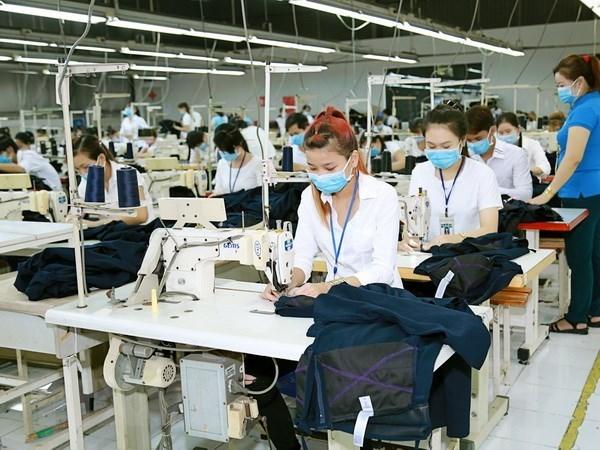 Les exportations nationales de textiles et de vetements en hausse de 14% au premier semestre hinh anh 1