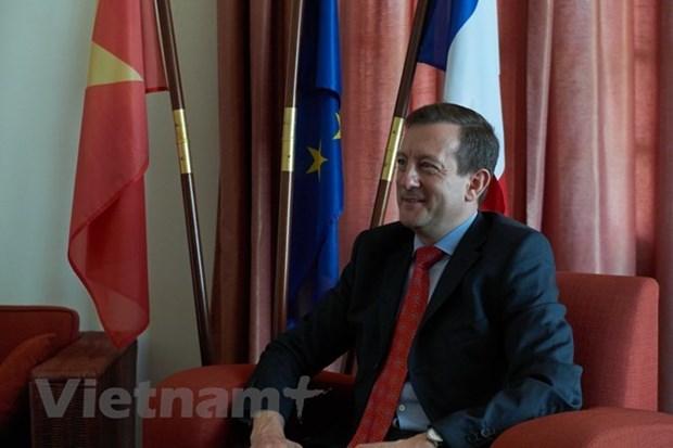 L'ambassadeur de France souligne les liens croissants entre le Vietnam et la France hinh anh 1
