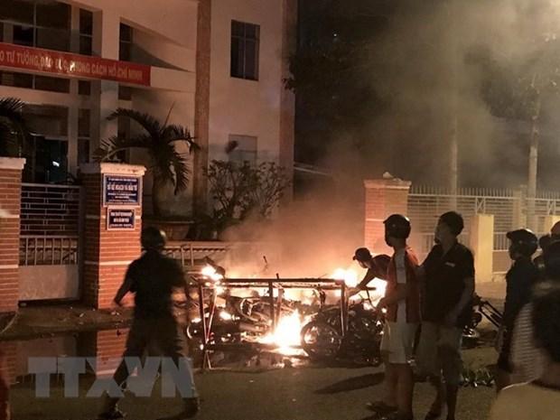 Binh Thuan publie des informations officielles sur les troubles de juin hinh anh 1