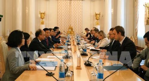Le Vietnam et la Russie tiennent leur 10e dialogue strategique hinh anh 1