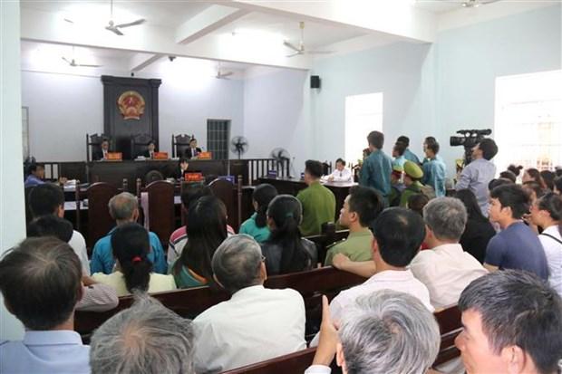 Sept personnes condamnees pour troubles a l'ordre public a Binh Thuan hinh anh 1