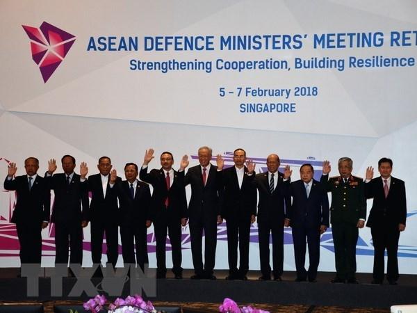 L'ASEAN et ses partenaires reunis pour renforcer les liens de defense hinh anh 1