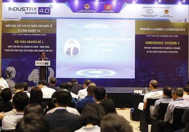 Sommet de l'Industrie 4.0: De nouvelles avancees du secteur financier et bancaire a l'honneur hinh anh 1