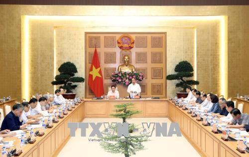 Le PM a la reunion du Conseil consultatif national sur les politiques monetaires hinh anh 1
