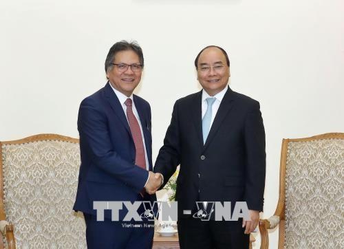 Le PM recoit le directeur general de PEMANDU de Malaisie hinh anh 1