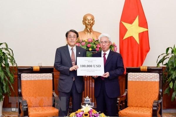 Le Vietnam vient en aide aux victimes des inondations au Japon hinh anh 1
