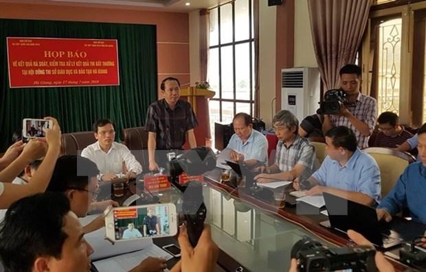 Scandale au baccalaureat a Ha Giang : ouverture d'une procedure penale hinh anh 1