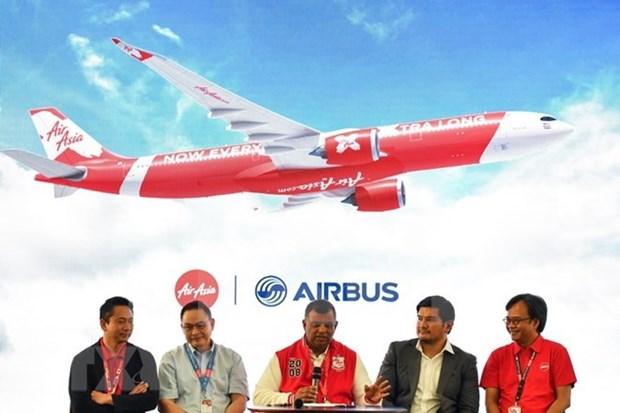 AirAsia passe une commande de 100 Airbus A330neo hinh anh 1