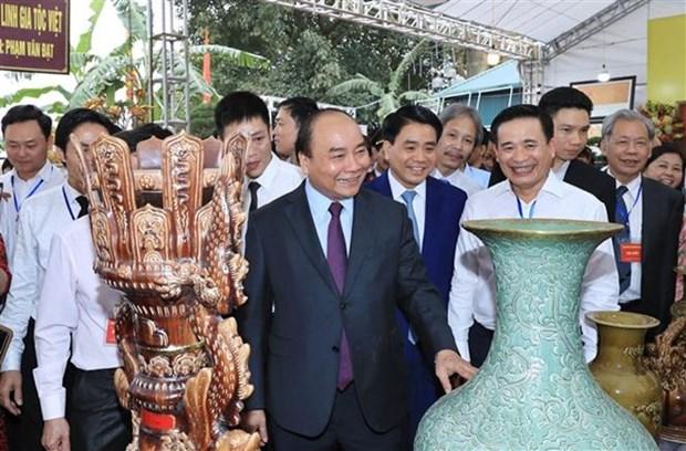 Hanoi veut donner un elan touristique a ses villages de metiers hinh anh 1