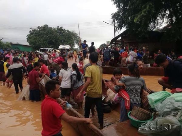Laos : des centaines de personnes portees disparues suite a l'effondrement d'un barrage hinh anh 1