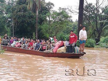 Laos : des centaines de personnes portees disparues suite a l'effondrement d'un barrage hinh anh 2