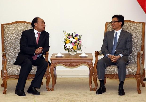 Le vice-PM Vu Duc Dam recoit le secretaire general de l'UIT hinh anh 1