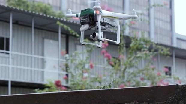 Singapour utilisera des drones pour l'aide medicale et la securite hinh anh 1