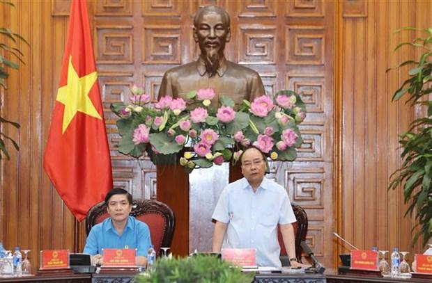 Le PM demande de resoudre les problemes touchant directement aux travailleurs hinh anh 1