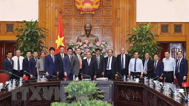 Le PM accueille des investisseurs a Bac Lieu hinh anh 1