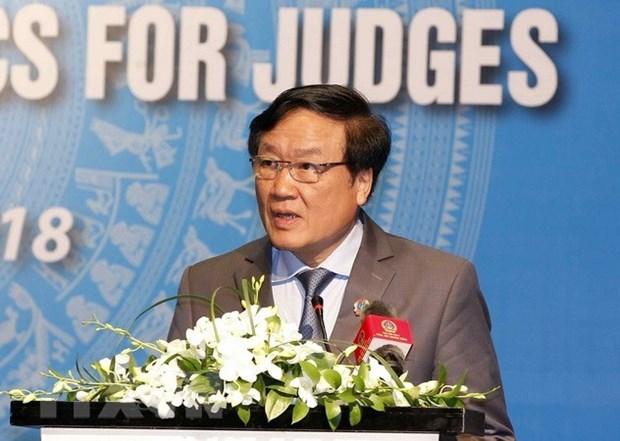 Le Vietnam et Singapour intensifient la cooperation judiciaire hinh anh 1