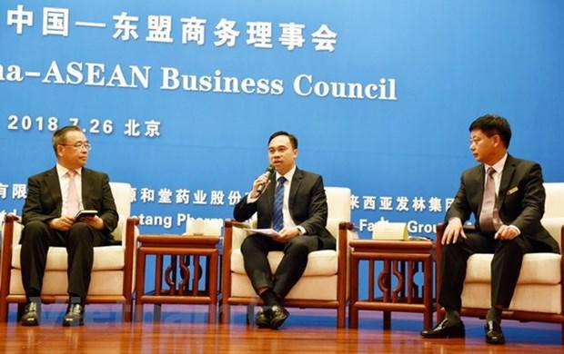 Le Vietnam au Dialogue sur les opportunites d'affaires ASEAN-Chine hinh anh 1