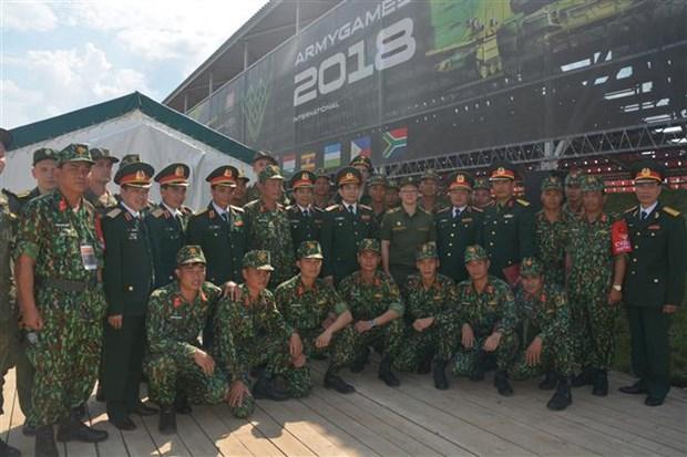 Le Vietnam participe aux Jeux militaires internationaux 2018 en Russie hinh anh 2