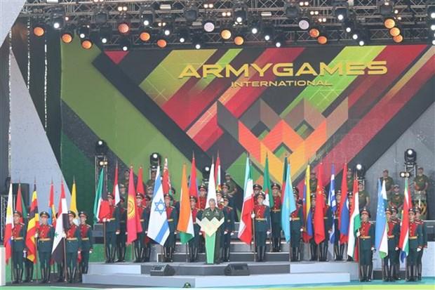 Le Vietnam participe aux Jeux militaires internationaux 2018 en Russie hinh anh 1